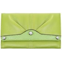 Eveline Tri-fold Snap Closure Wallet
